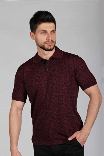 İgs Erkek Bordo Regularfıt / Rahat Kalıp Std Tişört