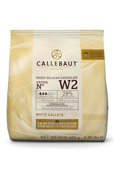 Callebaut Beyaz Drop Çikolata 400 gr