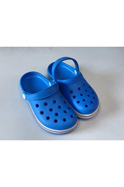 Akınalbella Erkek Çocuk Mavi Renk Crocs Model Terlik Sandalet