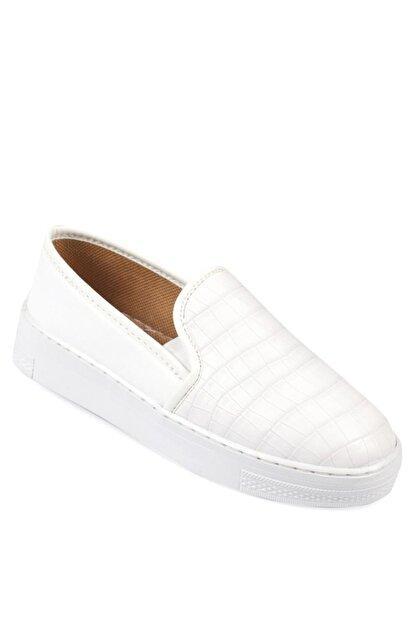 Capone Outfitters Kadın Beyaz  Sneaker