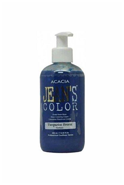 Acacia Saç Boyası  Jean's Color Saç Boyası Turkuaz 250 ml 8680114782614