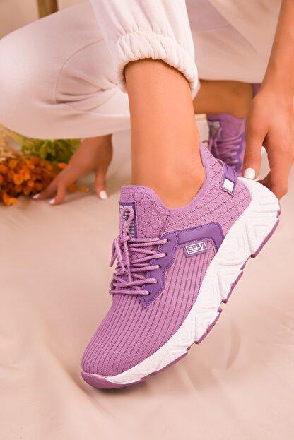 Soho Exclusive Lila Kadın Sneaker 15772