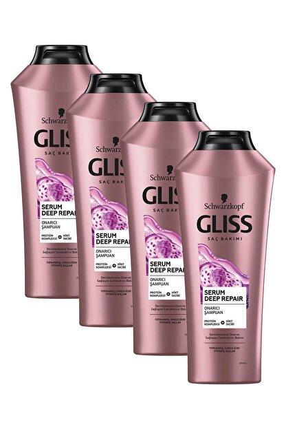 Gliss Serum Deep Repair Onarıcı Şampuan 360 ml 4'lü