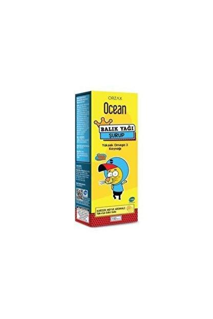 Orzax Ocean Balık Yağı Şurubu Karışık Tuttı Fruttı Kral Şakir 150 ml