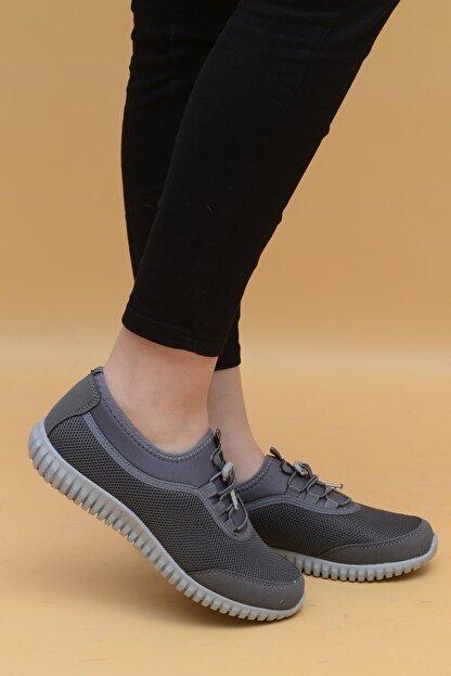 Evarmis Kadın Gri Günlük Spor Ayakkabı 1042