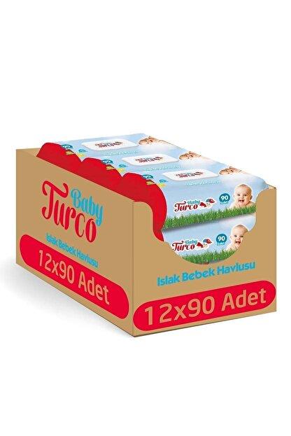 Baby Turco Islak Havlu 12x90 (1080 Yaprak)