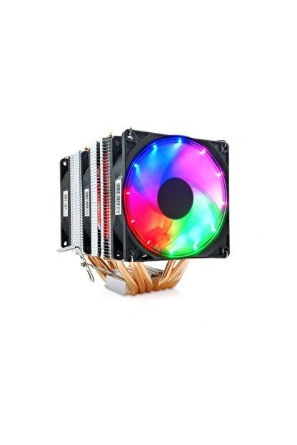 Snowman X6 Cpu Soğutucu Fan Rainbow