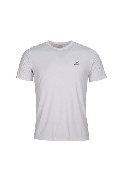 Kinetix SN225 BASIC PES C NECK T- Beyaz Erkek T-Shirt 100581598