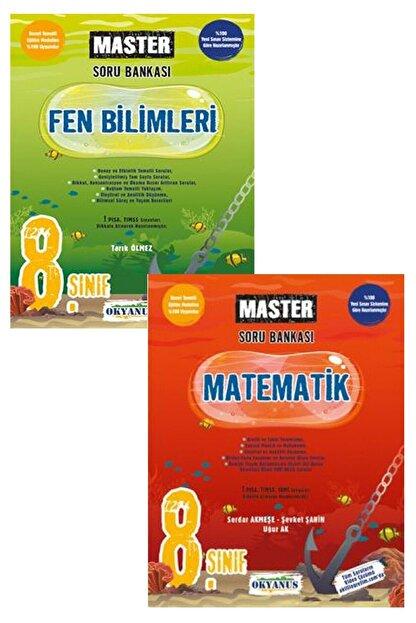 Okyanus Yayınları 8.sınıf Master Matematik  Fen Bilimleri Soru Bankası Seti