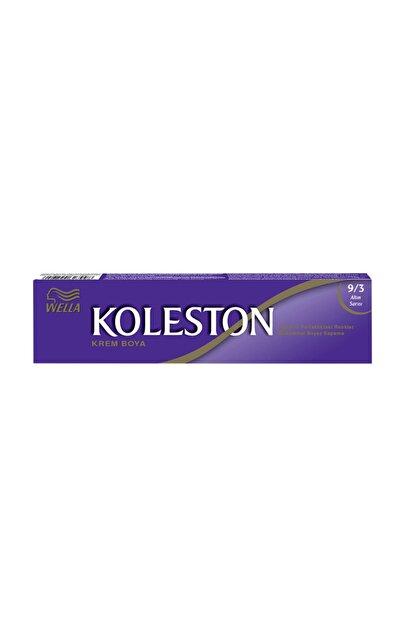 Koleston Krem Tüp Saç Boyası - 9.3 Altın Sarısı