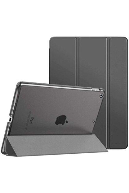TEKNETSTORE Siyah Apple Ipad 8. Nesil 2020 10.2 inç Tablet Flip Smart Standlı Akıllı Kılıf Smart Cover
