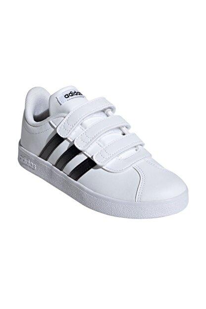 adidas Vl Court 2.0 Cmf Beyaz Unisex Çocuk Sneaker