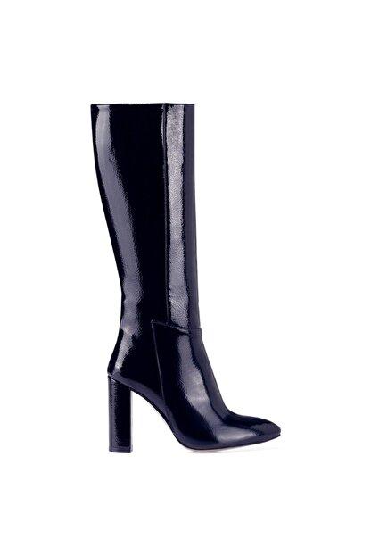 Nine West MIMA Lacivert Kadın Ökçeli Çizme 100582032