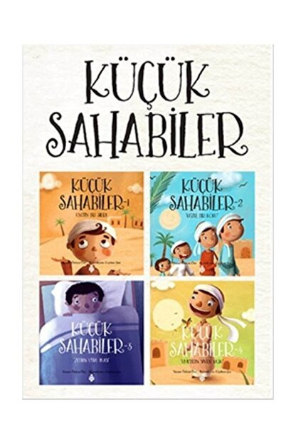 Uğurböceği Yayınları Küçük Sahabiler Seti - 2 4 Kitap Takım
