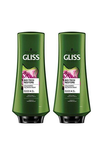 Gliss Bio-tech Güçlendirici Saç Kremi 360 ml 2'li