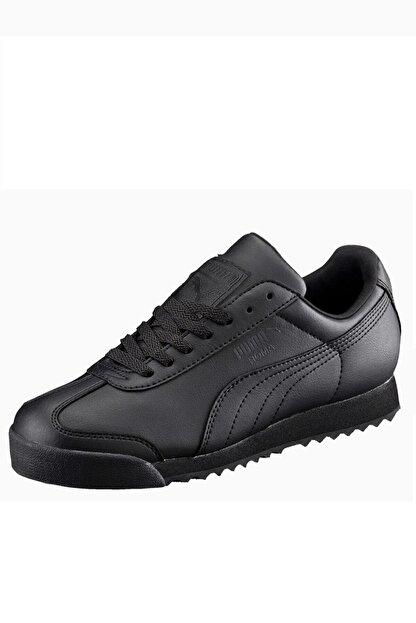 Puma Roma Unisex Siyah Günlük Spor Ayakkabı