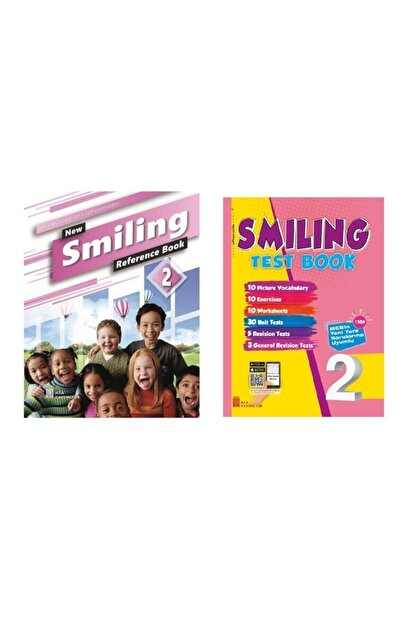 Ata Yayıncılık 2.sınıf New Smiling Reference Book + Test Book