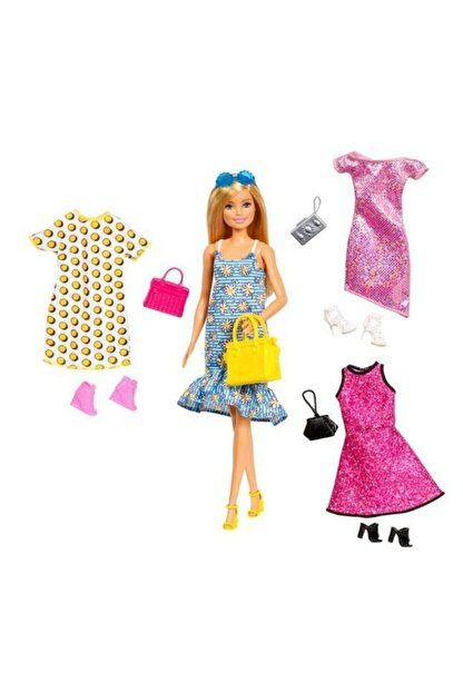 Barbie Kıyafet Kombinleri Seti BRB/GDJ40