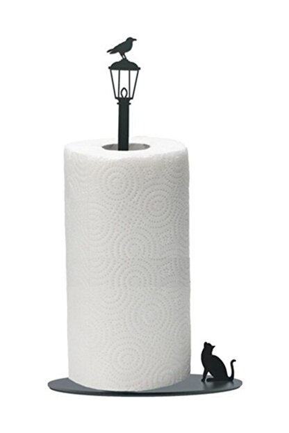 Simge Yapı Dekorasyon Figürlü Dekoratif Metal Kağıt Havluluk, Havlu Askısı, Havlu Tutucu