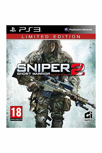 City Ps3 Sniper Ghost Warrior 2 Limited Edition