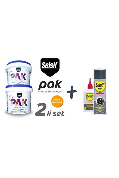 Selsil Pak Genel Amaçlı Mucize Temizleyici 2 Adet ve  Hızlı Yapıştırıcı 200 ml  50 gr