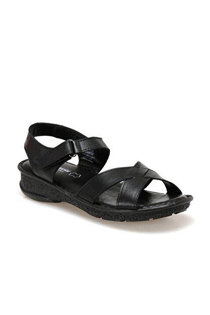 Polaris 103089.Z Siyah Kadın Sandalet 100509757