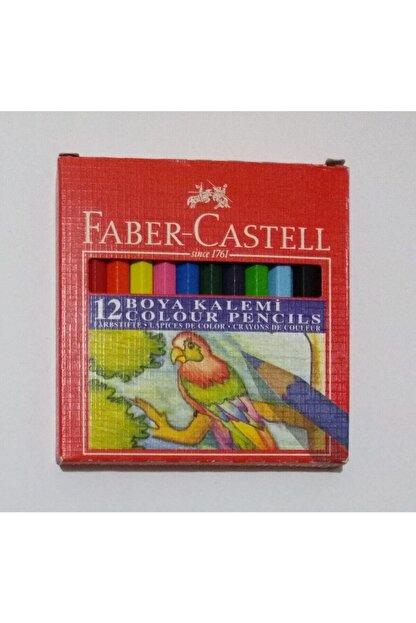 Faber Castell Karton Kutu Boya Kalemi 12 Renk Yarım Boy