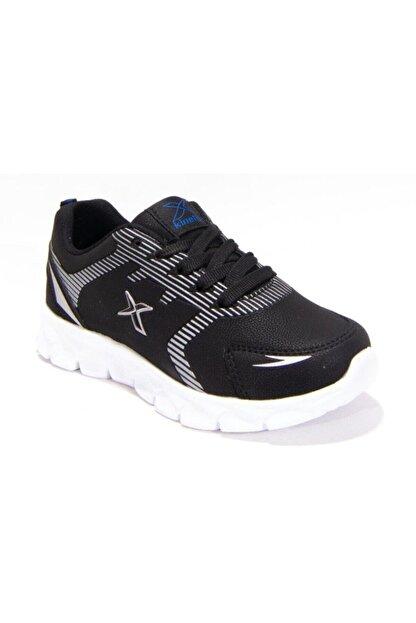 Kinetix Erkek Çocuk Siyah Bağcıklı Yürüyüş Ayakkabısı Ice