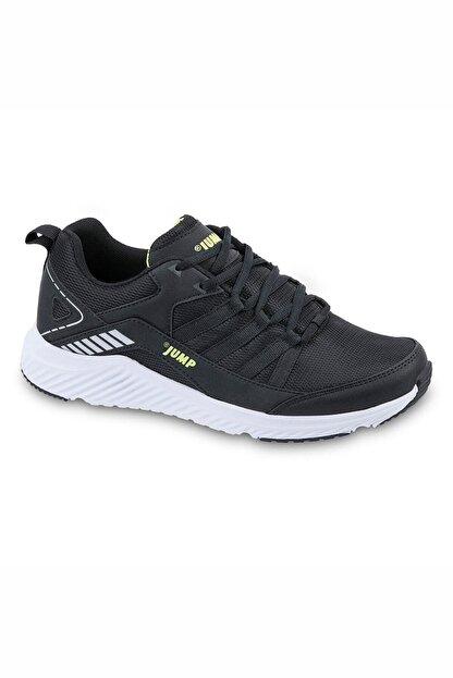 Jump 24865 Siyah - Neon Yeşil Erkek Spor Ayakkabı