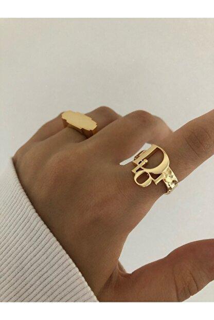 The Y Jewelry Dior Yazılı Yüzük - Ayarlanabilir