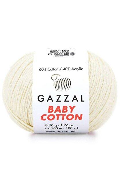 Gazzal Baby Cotton El Örgü Ipi 3437