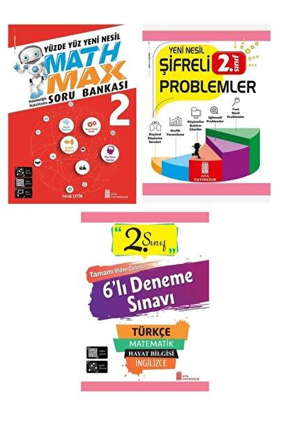 Ata Yayıncılık Ata 2.sınıf Yeni Nesil Math Max+şifreli Problemler+6 Lı Deneme