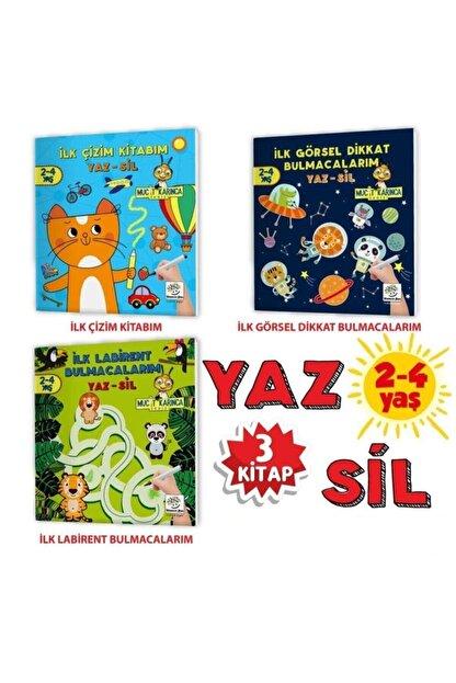 Yükselen Zeka Yayınları Evde Etkinlik Seti 2 – Mucit Karınca Serisi Yaz-sil Kitaplar / Çocuk Etkinlik Kitabı