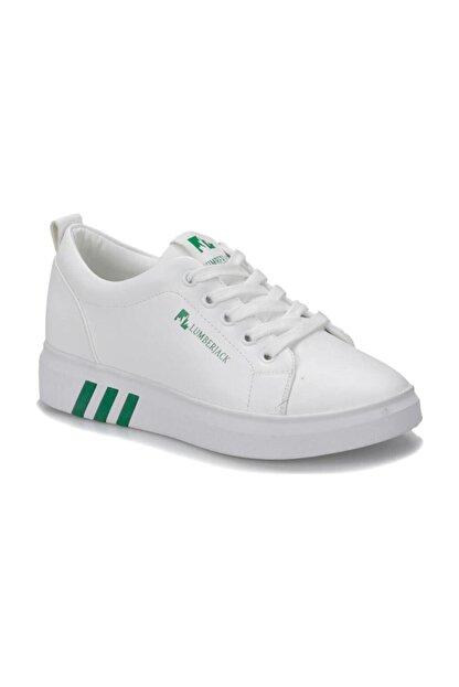 Lumberjack Tina Beyaz Yeşil Kadın Sneaker Ayakkabı 100367303