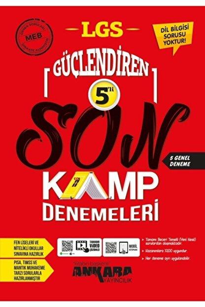 Ankara Yayıncılık 8.sınıf Lgs Güçlendiren 5'li Son Kamp Denemeleri 2021