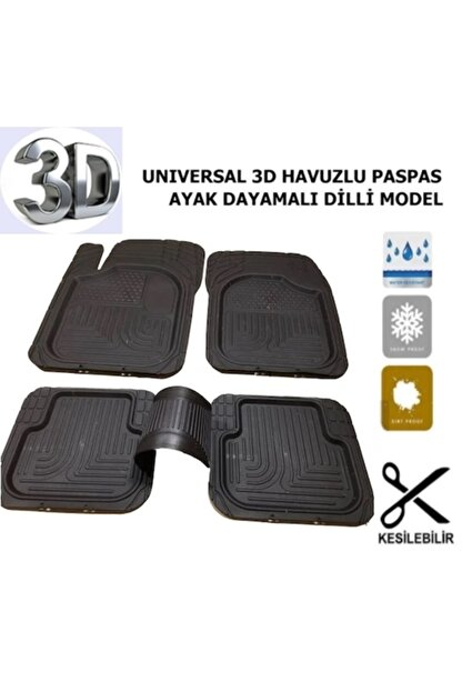Class Havuzlu Paspas 3d Universal Her Araca Uygun Oto Koku Heydiyeli