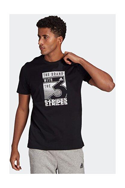 adidas Erkek Siyah M Extmo Slgn T T-Shirt
