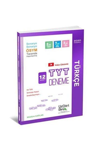Üç Dört Beş Yayıncılık Tyt Türkçe 12'li Deneme