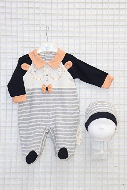 Nehad Bebe Erkek Bebek Nakış Işlemeli Tulum