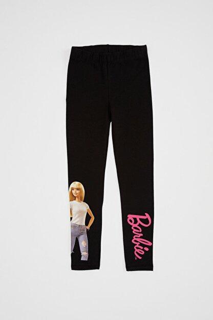 Defacto Kız Çocuk Barbie Lisanslı Tayt