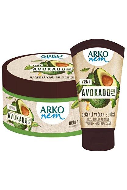 Arko Nem Nem Değerli Yağlar Avokado Yağı El Ve Vücut Kremi 250  ml& 60 ml