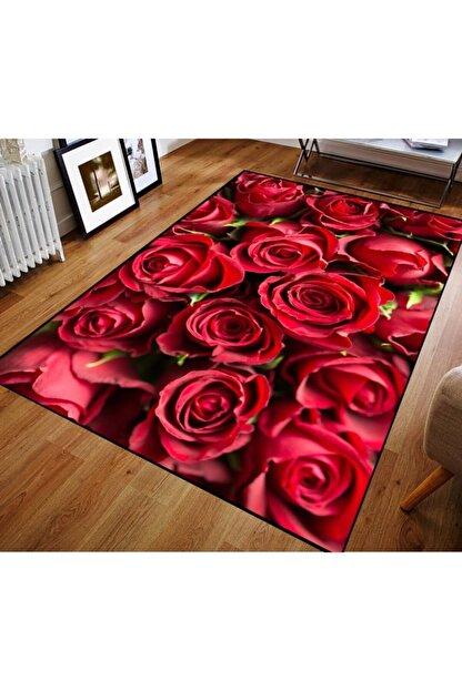 Classy Halı 3d Çiçek Desenli 3 Boyutlu Halı 5mm