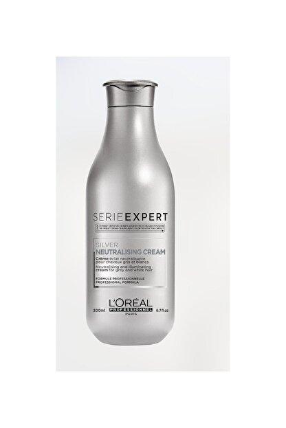 L'oreal Professionnel Serie Expert Silver Çok Açık Sarı, Gri Ve Beyaz Saçlar Için Renk Dengeleyici Mor Bakım Kremi 200 Ml