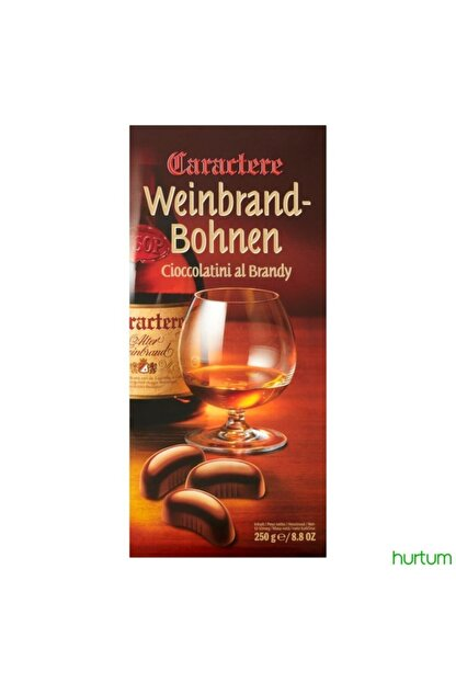 Nestle Caractere Weinbrandbohnen Çikolata 250gr