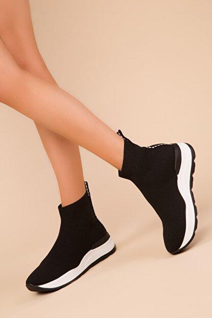 Soho Exclusive Siyah Kadın Sneaker 15334