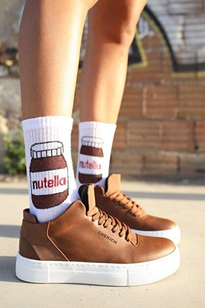 Chekich Ch004 Bt Kadın Ayakkabı Taba