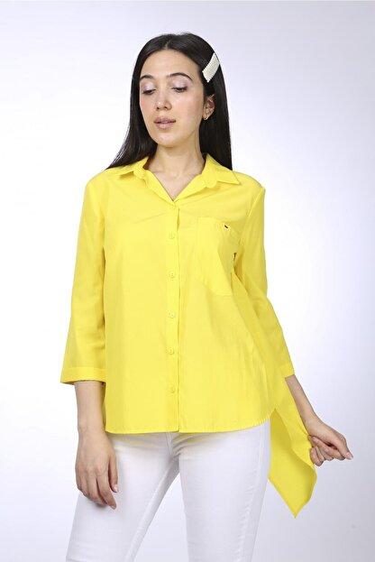 Favori Kadın Sari Gömlek 94038