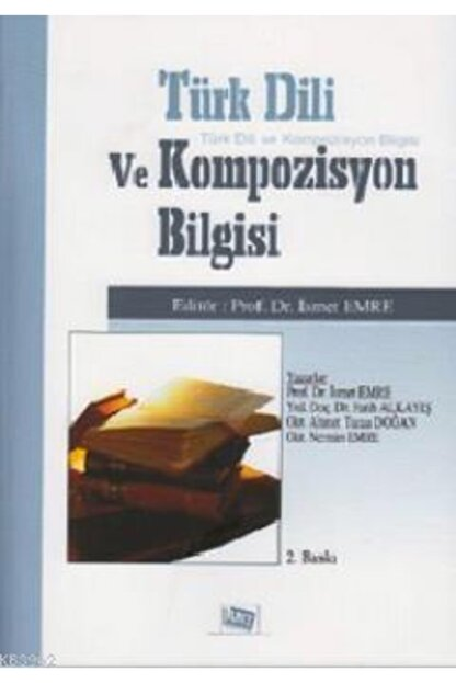 Anı Yayıncılık Türk Dili Ve Kompozisyon Bilgisi