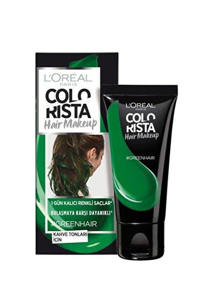 L'Oreal Paris Paris Colorista Hair Makeup Green