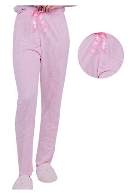 ARCAN Kadın Pembe Kalp Desenli Pijama Altı 20106